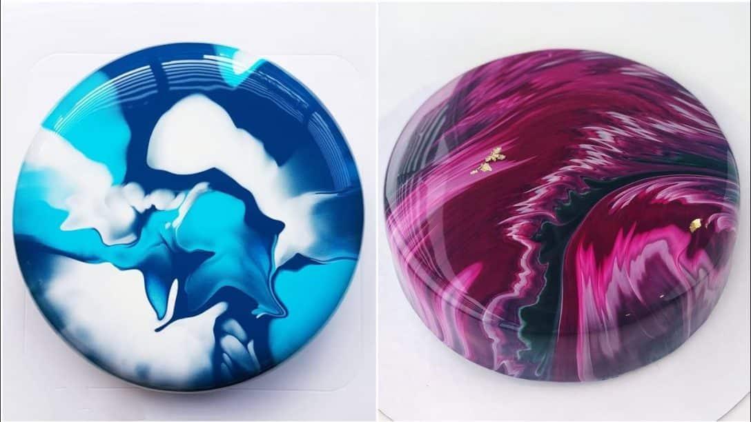 Beautiful Mirror Glaze Cake Decorating Videos