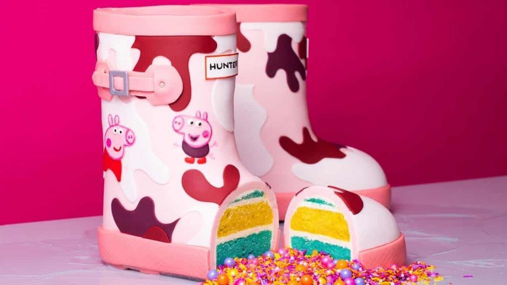 Peppa Pig Boots CAKE! | How To Cake It with...