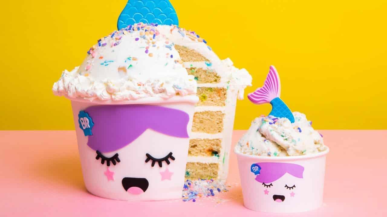 GIANT Baskin-Robbins® Ice Cream Made of CAKE!