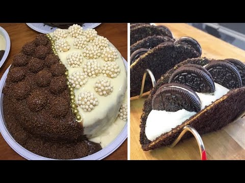 Delicious And Easy Chocolate Cake Decorating...