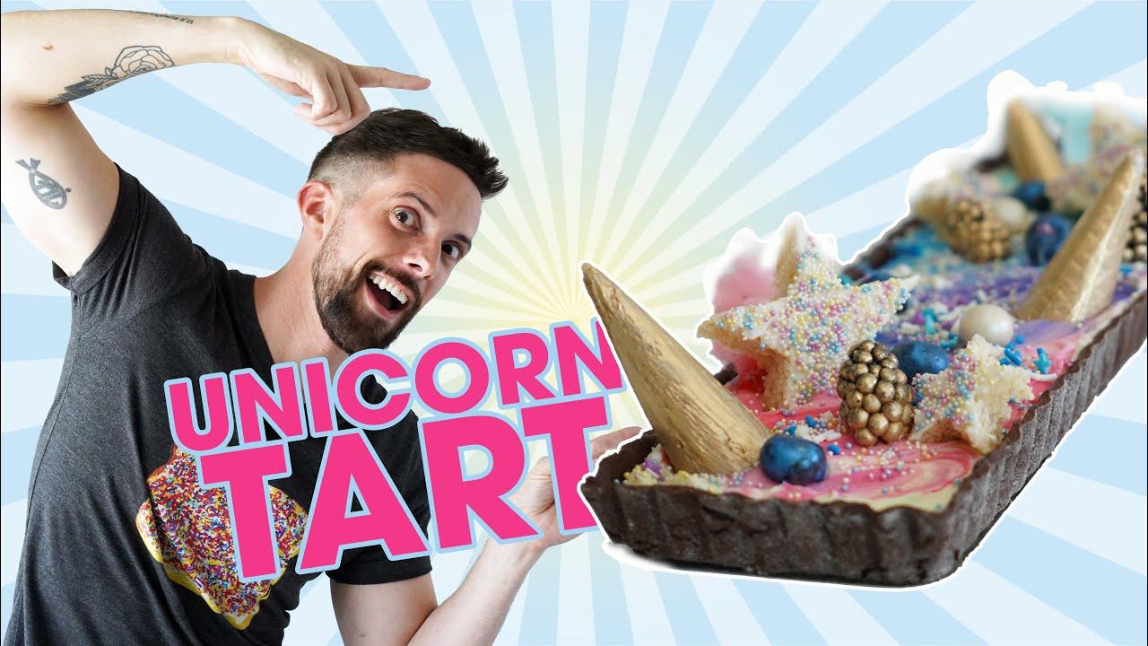 YOU'VE BEEN DESSERTED - Unicorn Tart